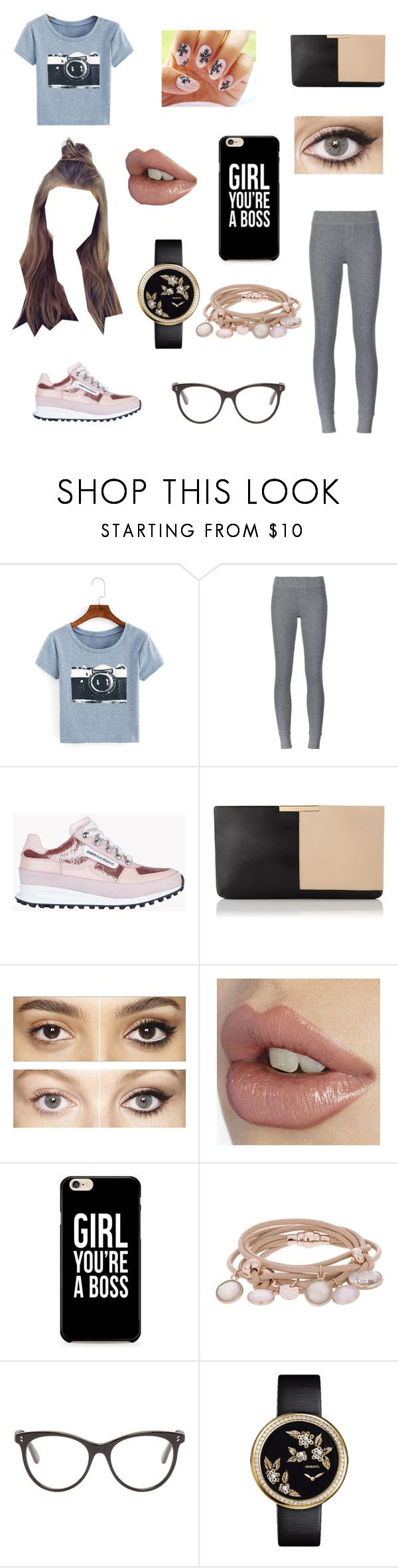"""""""Casual Day"""" by fandoms-and-good-music ❤ liked on Polyvore featuring ATM by Anthony Thomas Melillo, Dsquared2, L.K.Bennett, Charlotte Tilbury, Marjana von Berlepsch, STELLA McCARTNEY and Chanel"""
