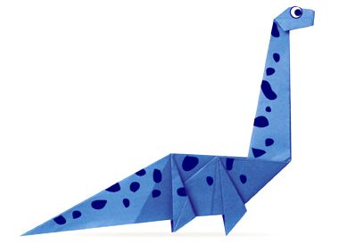 Origami Seismosaurus Instructions