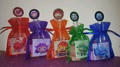 12 Wallykazam Birthday Party Favor Bags Stickers Bubbles Goody Preschool 2nd 3rd in Home & Garden, Greeting Cards & Party Supply, Party Supplies   eBay