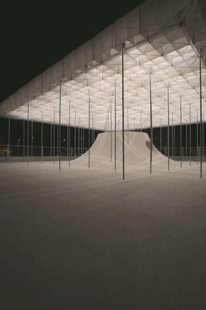 Galerie Des Schwimmenden Pavillons Der Architekten Von Shen Ting Tseng 34 Architekten Der Des Galeri In 2020 Schwimmende Architektur Pavillon Pavillon Design