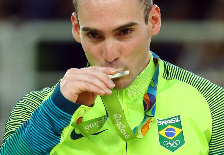 Arthur Zanetti medalha de prata nas argolas nas Olimpiadas do Rio