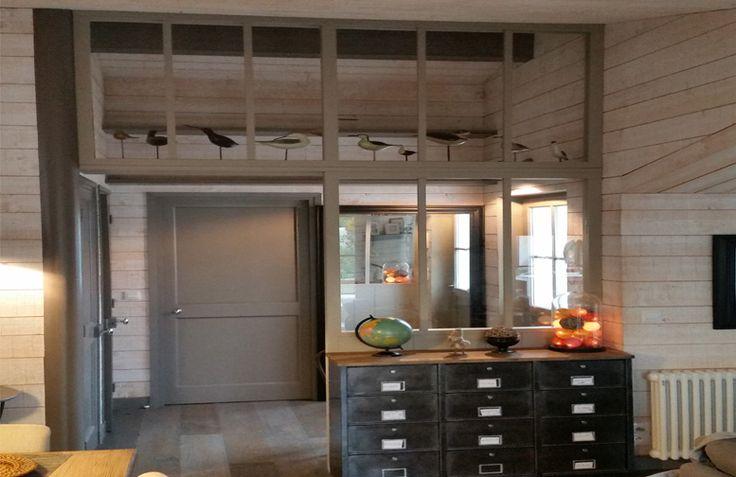 R alisation d 39 un ch ssis atelier en bois avec son imposte - Separer entree et salon ...