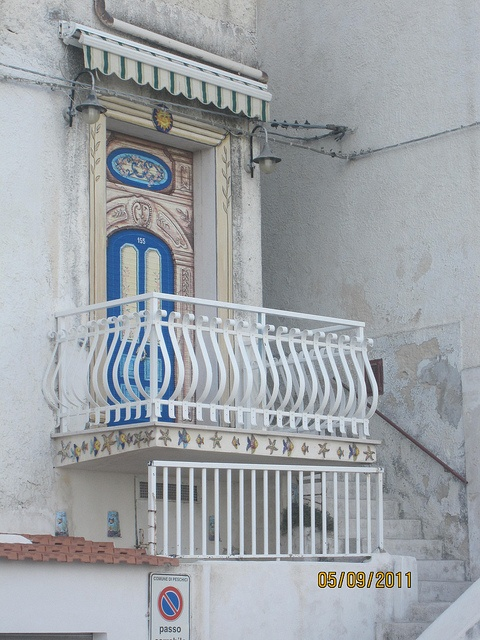 Not the Romeo and Juliet balcony, but cute!  Peschici, Gargano, Puglia