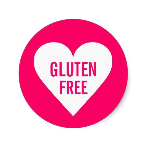 Gluten Free Allergy Safe Culinary Label Stickers