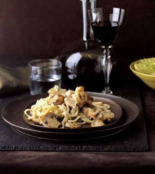 Find the recipe for Chicken Tetrazzini and other pasta recipes at Epicurious.com