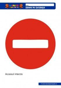 008 - Semne de circulatie pentru copii