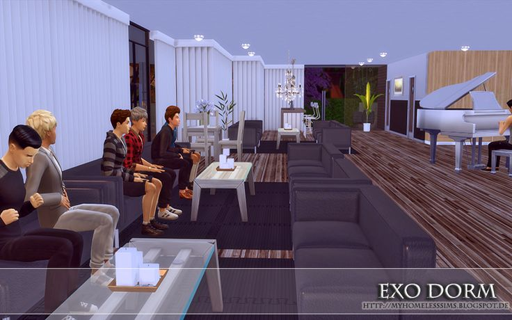 """from the house """"EXO Dorm"""""""