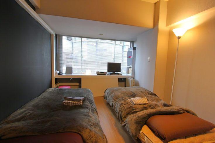 Shinsaibashi504 in Osaka https://www.airbnb.jp/rooms/4756460  グランドメゾン心斎橋504号室