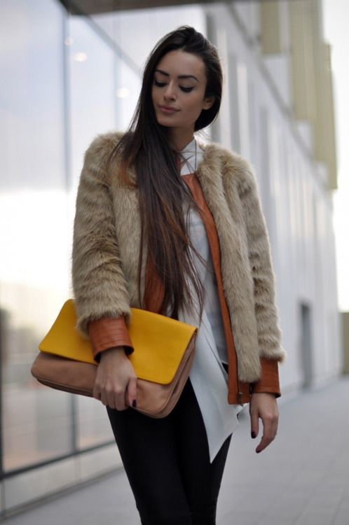 : Fur Coats, Fashion Passion, Beautiful Fur, Street Style, Weights Loss Site, Lose Weights, Fashion Trends, Faux Furrrrr, Leather Fur