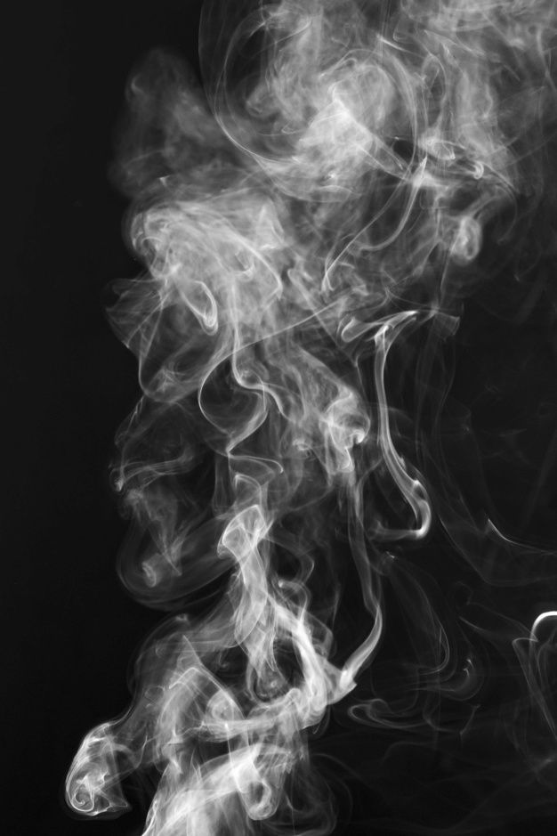 Download White Smoke Shapes Movement Over Black Background For Free Black Abstract Background Smoke Texture Black And White Photo Wall