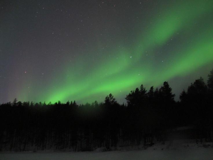 Auroras Boreales en Lemmenjoki