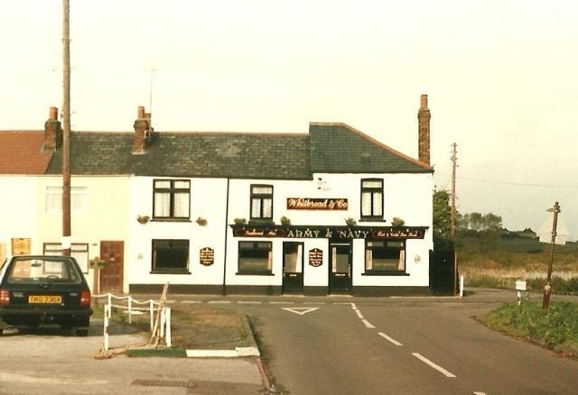 Army & Navy pub, Rainham, Kent 1985