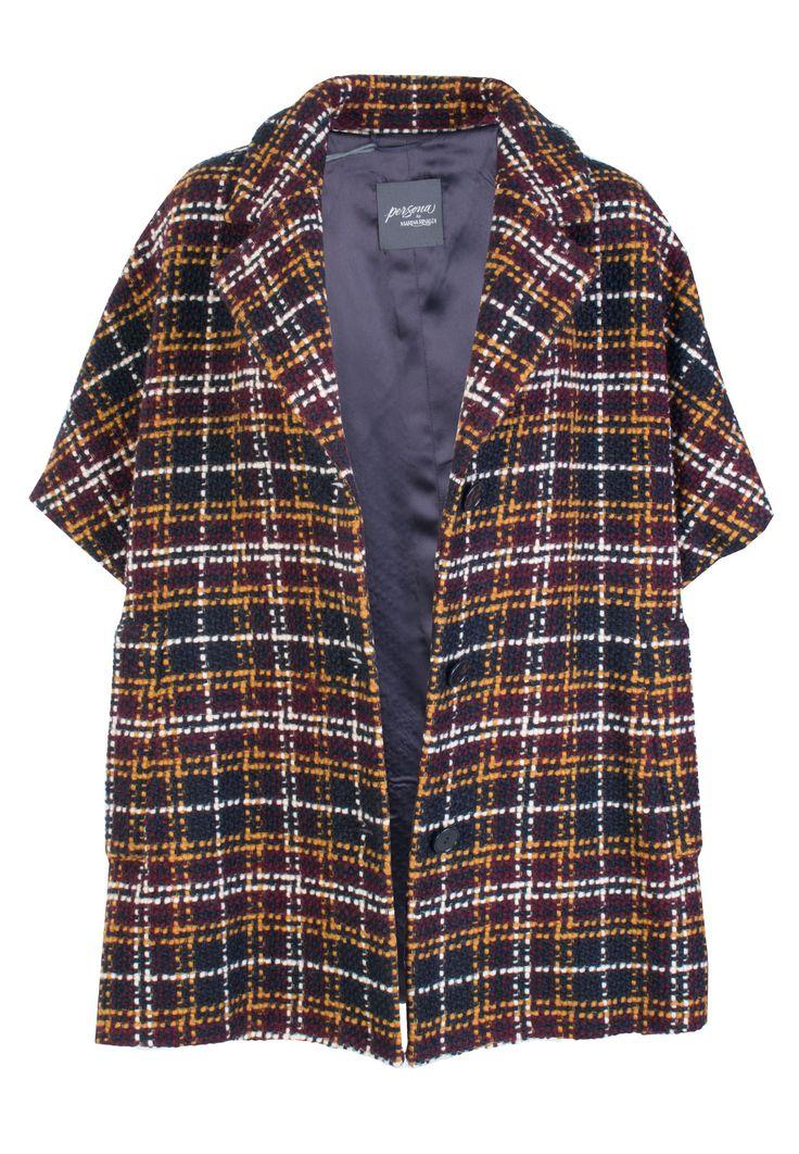 Разноцветный Пиджак PERSONA BY MARINA RINALDI - купить по цене 38900 рублей - Elyts.ru