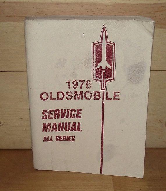 1978 Oldsmobile Service Manual by DaytonaVintage on Etsy