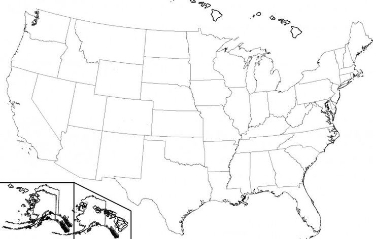 United States Map Template Blank Unique Inspiring United
