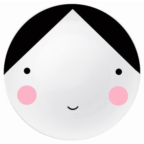 Ebony Face Plate - such a cute plate !