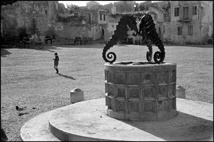 Rene Burri GREECE. Island of Rhodes. 1957