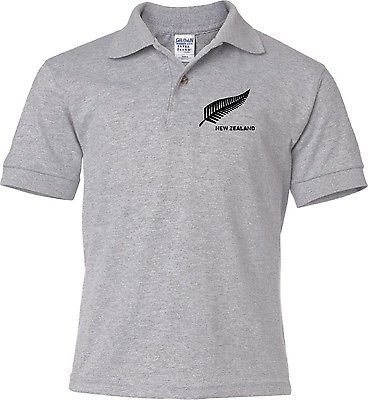 New zealand kids boys #girls #child youth polo cricket team #jersey - all sizes ,  View more on the LINK: 	http://www.zeppy.io/product/gb/2/401014161193/