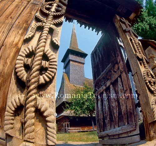 Maramures, al nord de Romania, esglésies de fusta del XV al XVIII