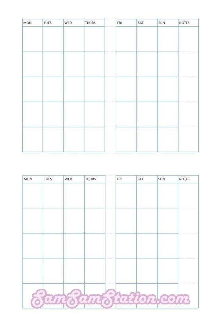 Free Printable Pocket Size Calendars Image Diy Travelers Notebook Inserts Free Printable Calendar Monthly Diy Travelers Notebook