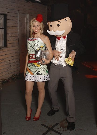 Funny and Cool Halloween Costumes 2013: Epic Halloween Craziness Costumes. Andrea, instead of queen of hearts, monopoly on a pillowcase, and Brent, you would sport the white mustache :)