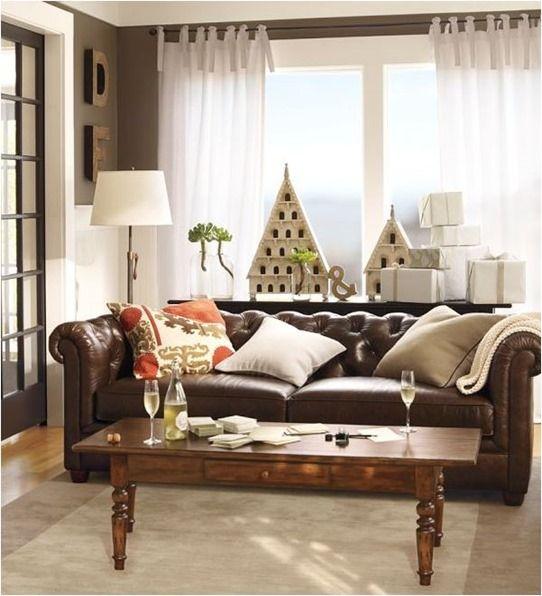 Best 20 Dark leather couches ideas on Pinterest