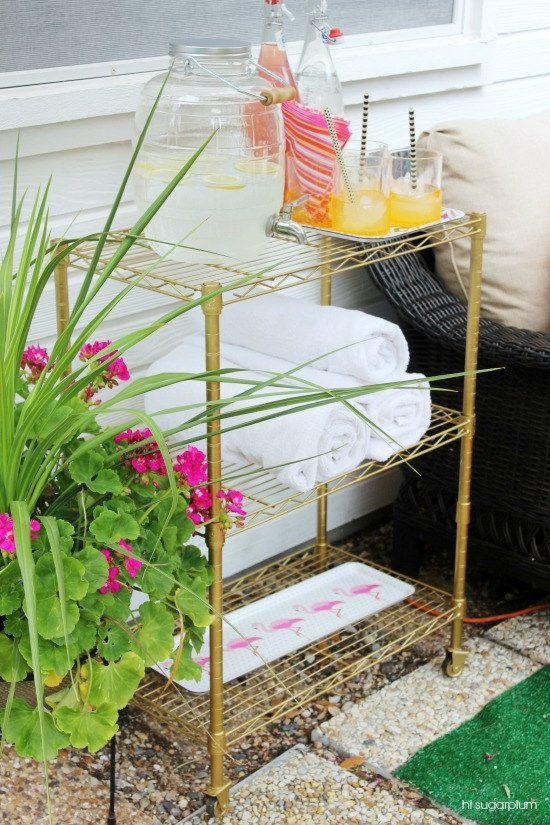 Diy Patio Bar Ideas: Best 25+ Outdoor Bar Cart Ideas On Pinterest