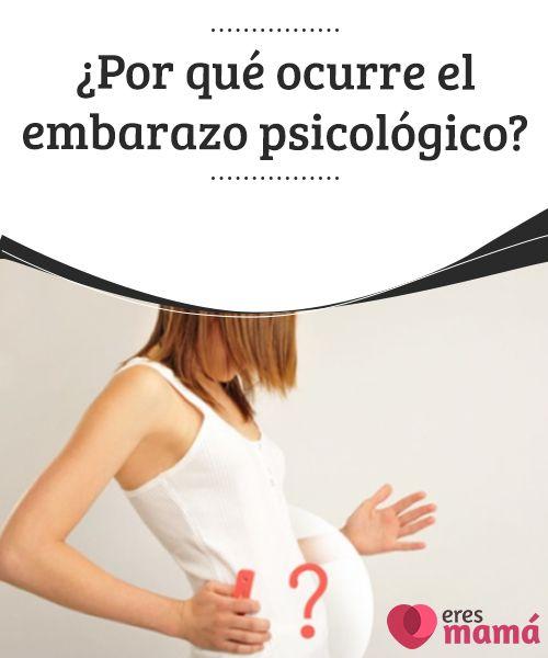 ¿Por qué ocurre el embarazo psicológico? El #embarazo #psicológico, conocido clínicamente como #Pseudociesis; es un proceso en realidad poco común, pero #existe. Uno de cada 20 mil embarazos es #falso #Preconcepción
