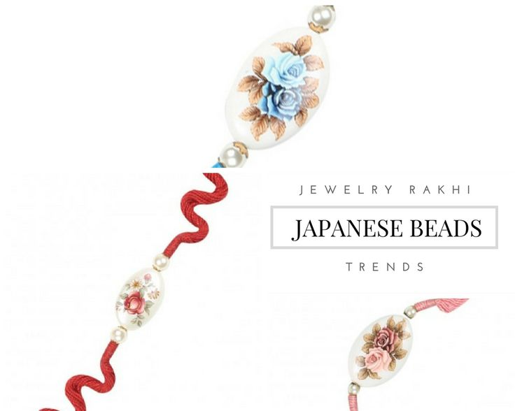 Japanese Art | Pearl | Rose painted Rakhis | Handmade | Jewelry Rakhi Trends  | ( http://purplevelvetproject.com/top-13-jewelry-rakhi-trends/  ) | Unique Rakhi Ideas | Rakhi Design | DIY Rakhis | Rakhi Lumba | Raksha  Bandhan | Thali | Indian Festival | Modern Rakhis | Traditional Rakhis |  Brother | Sister | Sister In Law | Bhabhi | Personalised Rakhis | Rakshabandhan  | Fancy Rakhis | Designer Rakhis | Beautiful | Awesome | Creative | Fun Rakhis | Quirky Rakhis | @purplevelvetpro'
