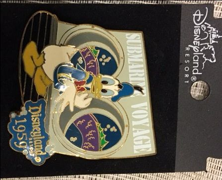 Disney Disneyland Submarine Voyage Donald Duck Surprised by Sea Monster Pin HTF by DisneyDad29 on Etsy