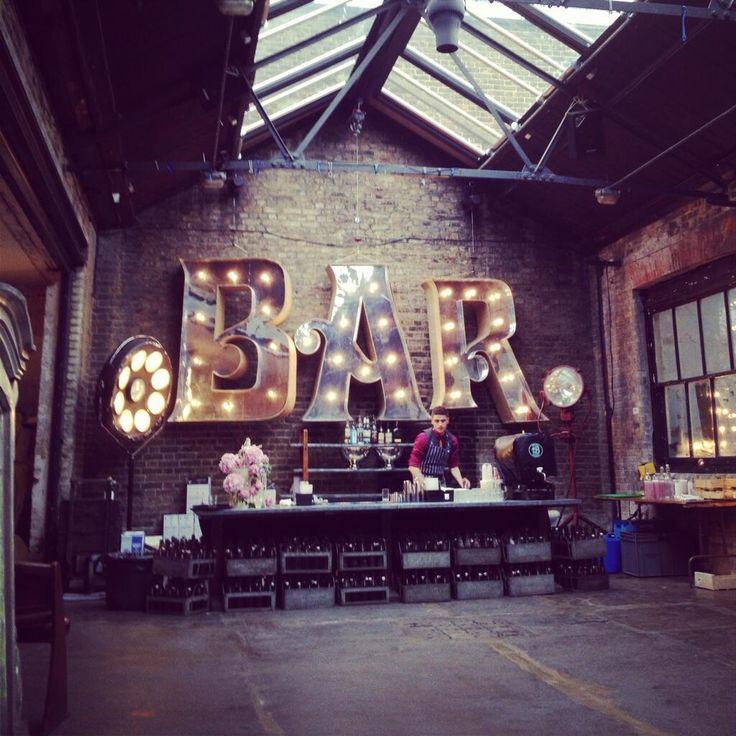 Twitter / especiallyamy: Coolest wedding bar ever? Loving ...