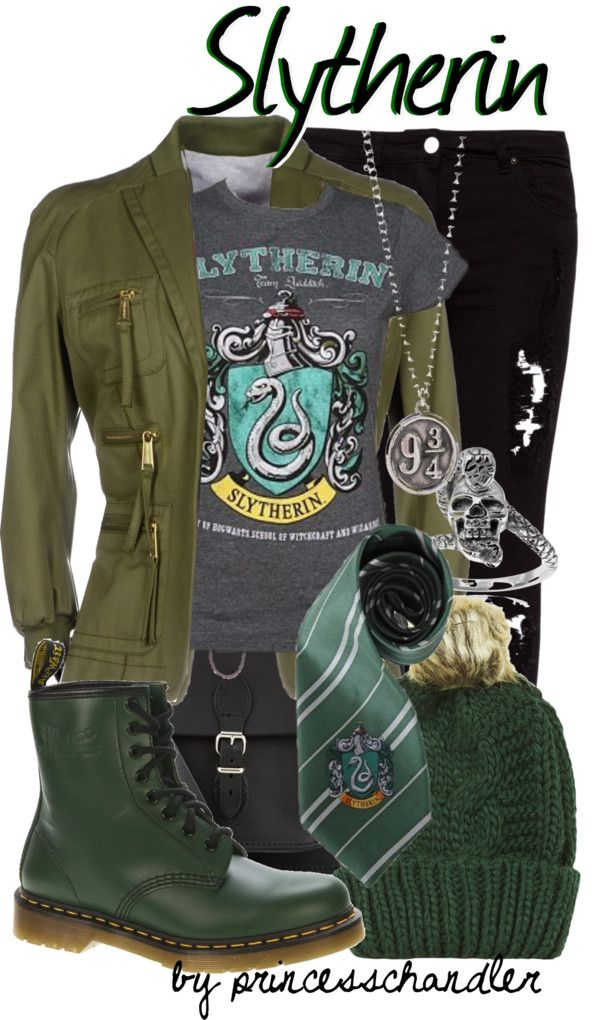 Harry Potter Inspired Outfits http://geekxgirls.com/article.php?ID=4304 Could be easily adapted for the other houses too!