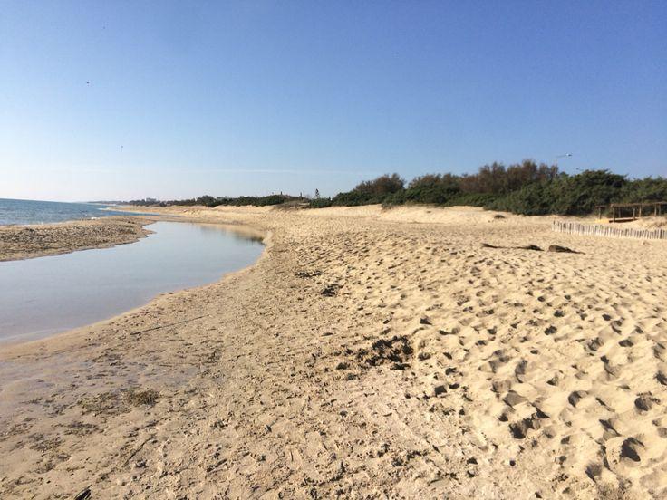 Fiume Chidro - Spiaggia di San Pietro in Bevagna - Salento