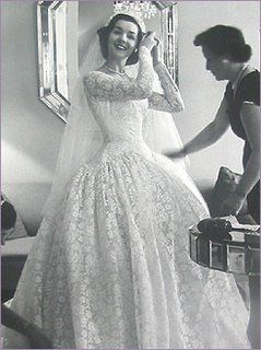 1950s-You Gotta Love A '50s Bride... :  wedding vancouver wedding dress 50s Pho01