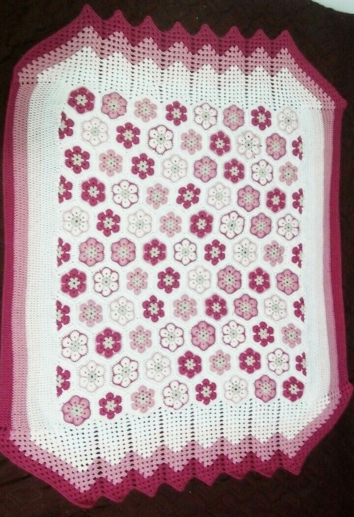 Patura copii crosetata 95*120 Crochet baby blanket..95*120