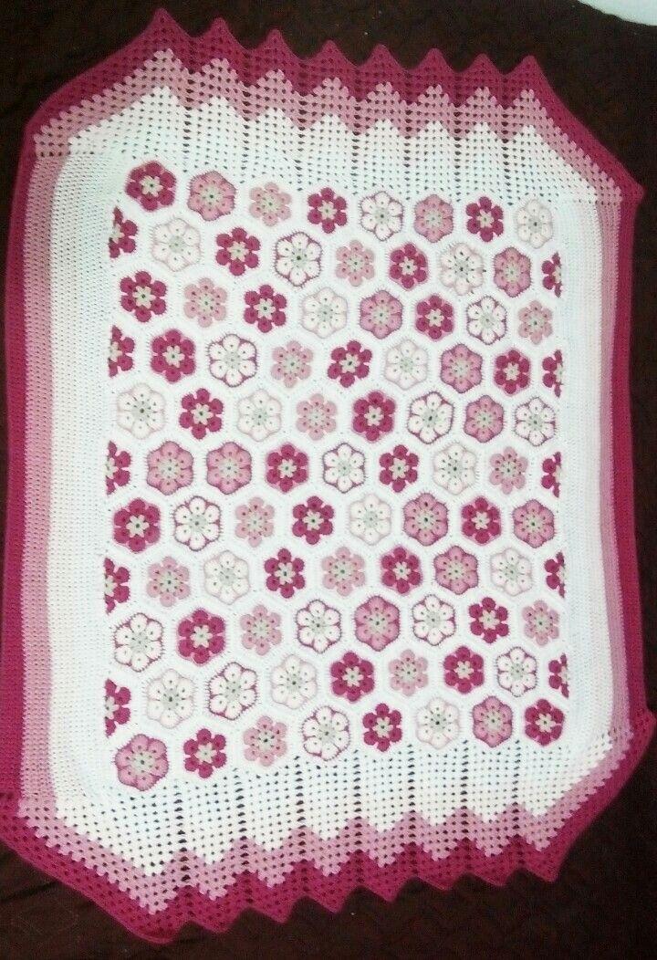 Patura copii crosetata 95*120 Crochet baby blanket..95*120