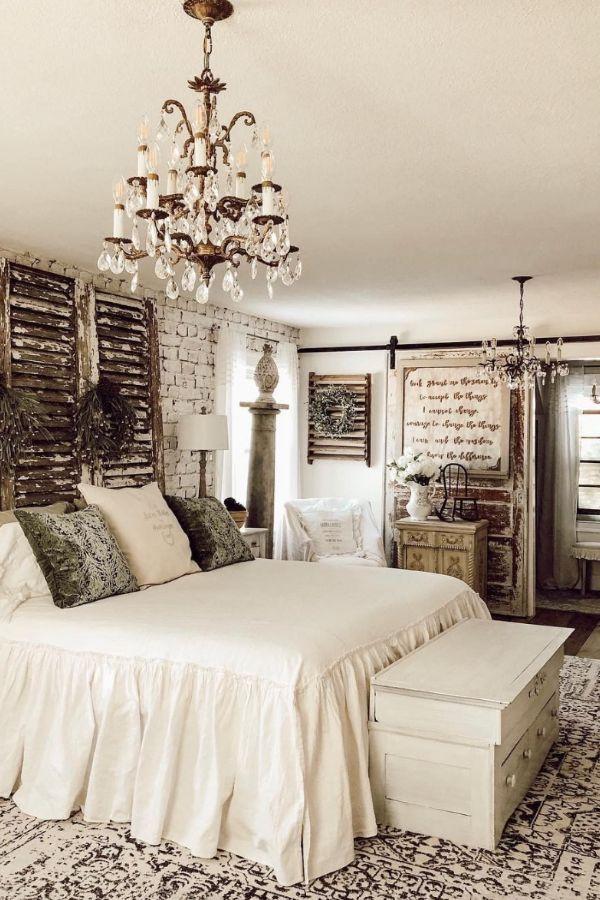 49 Fantastic Ideas For Rustic Bedroom Decor Vintage Schlafzimmer