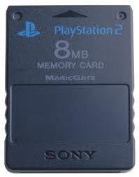 Original Memory Card 8mb Black - Playstation 2 (PS2)