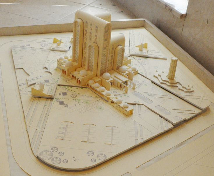4th year, Model, Architecture Department / University of Sulaimani