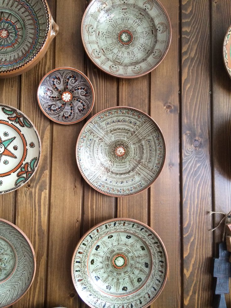 Horezu plates - private collection