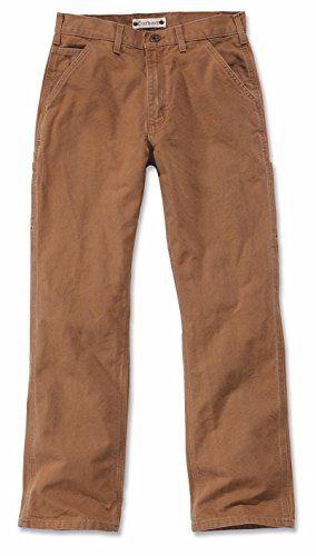 Cheap Carhartt Workwear Washed Duck Work Trousers deals week