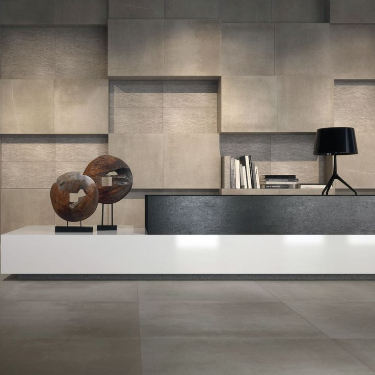 Indoor tile / wall-mounted / floor-mounted / porcelain stoneware - MAKU ROCK GREY - FAP ceramiche