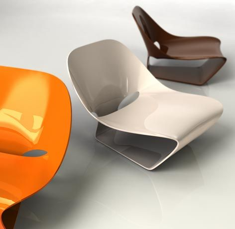 Moeb chair by Guillaume Crédoz.