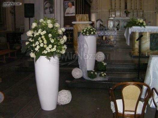 Addobbi floreali chiesa e cerimonia matrimonio