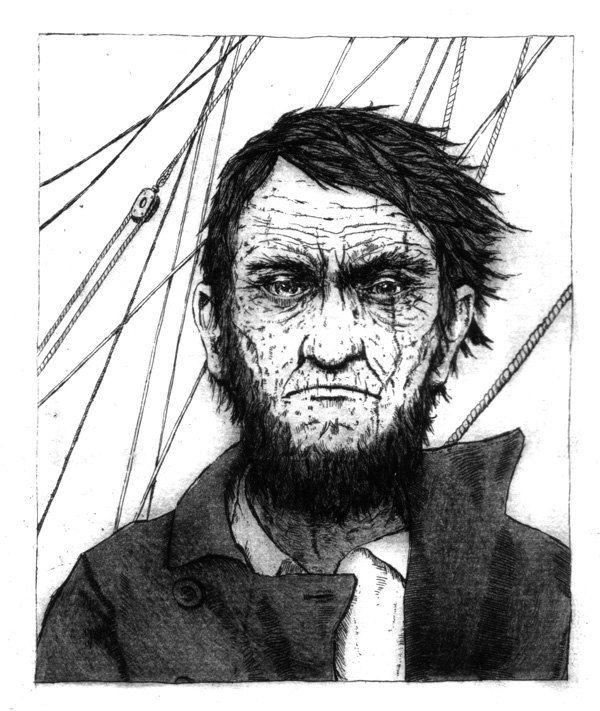 A dor emocional de um homem se reflete em seu mundo físico. A busca apaixonada por vingança, tornou Capitão Ahab em um herói!