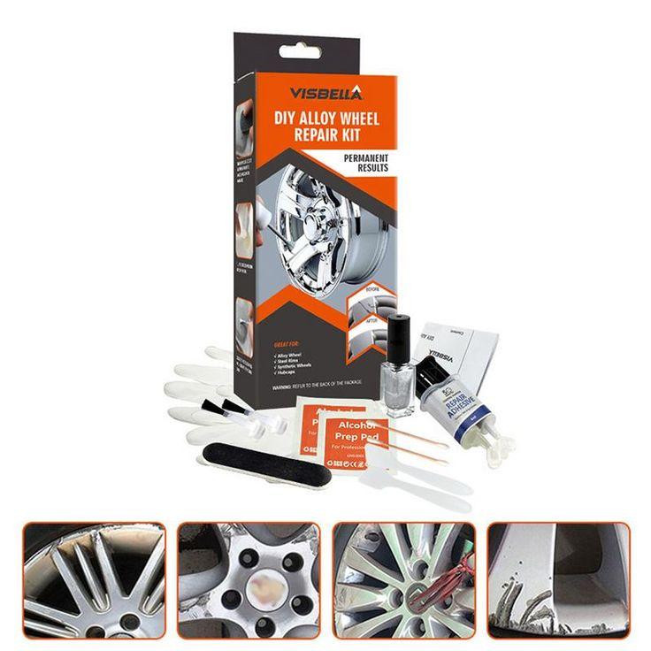 Diy alloy wheel repair kit leaves wheels flawlessly