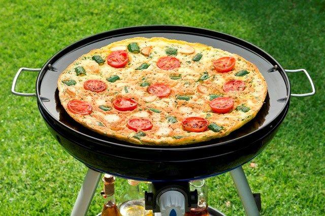Een heerlijke pizza