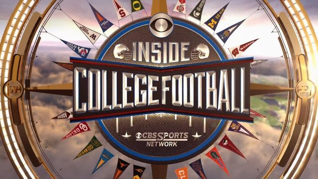 Broadcast show open for Inside College Football on CBS Sports Network