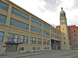 "Abandoned Scranton Lace Company-1315 Meylert St., Scranton, Pennsylvania( During that fateful Friday afternoon in May of 2002, when the workers at the Scranton Lace manufacturing facility were unceremoniously told, mid-shift, that the factory was closing ""effective immediately)Pic-1"
