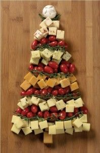 Apéritif arbre de Noël